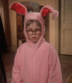 a christmas story bunny bunny suit children christmas - A Christmas Story Bunny