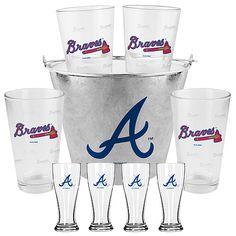 Atlanta Braves Pints and Mini Pilsners Gift Set - MLB.com Shop