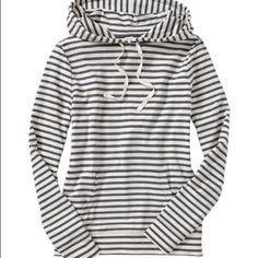 Striped Sweater A faded grey blue. Good used condition. Not BRANDY Brandy Melville Sweaters