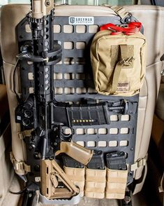 #conqueryourgear with our RMPs.#greymantactical Truck Bed Storage, Ammo Storage, Weapon Storage, Vehicle Storage, Edc Tactical, Truck Mods, Bug Out Vehicle, Ford Excursion, Cars