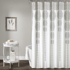 Mistana Nemeara Shower Curtain & Reviews   Wayfair