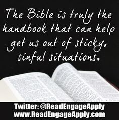 Read. Engage. Apply.: Quotes and Scripture Verses