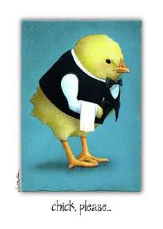 Will Bullas Painting - Chick, Please... by Will Bullas