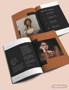 Magazine Page Design, Magazine Page Layouts, Editorial Design Magazine, Editorial Layout, Fashion Magazine Layouts, Booklet Design, Book Design Layout, Magazine Spreads, Magazine Ads