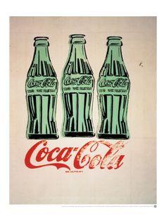 coke by andy warhol.