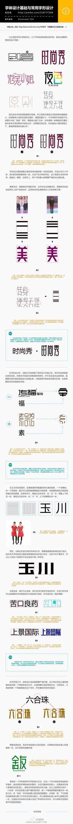 About Chinese typography