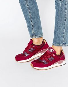 Buy it now. New Balance 530 Burgundy Trainers With Gum Sole - Red. Trainers by New Balance, Breathable mesh upper, Leather and suede overlay, Lace-up fastening, Branded tongue and cuff, Padded for comfort, Signature logo, Contrast sole, Moulded tread, Treat with a leather protector, 50% Real Leather, 50% Textile Upper. ABOUT NEW BALANCE Boston based brand, New Balance began life in the 1900s as an arch support company. Since developed into a range of custom-based trainers with high…