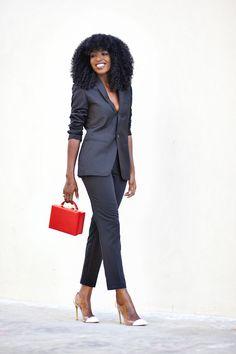 Tailored Black Suit