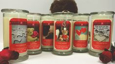 You'll Always Be Mine - 6 Pack of Valentine's Day Jewelry Candles-Birds of Paradise Jewelry Candle-The Official Website of Jewelry Candles - Find Jewelry In Candles!