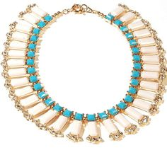 Wedding Statement Necklace White Fashion Jewelry Bubble Bib Necklace (Fn632-Blue) (Blue) Jane Stone,http://www.amazon.com/dp/B00CBNTE4W/ref=cm_sw_r_pi_dp_auAesb047928ES8V