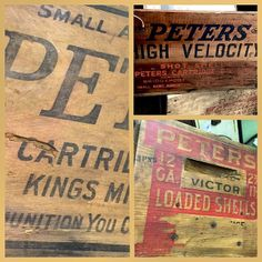 Captured several Peter's Cartridge crates for @Allan Peters Not used to seeing so many in a single hunt.  #typehunter  #peterscartridgeco #badgehunting #typehunting