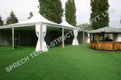 Canopy Tent, Tents, Lawn Party, Different Textures, Steel Frame, Frames, Fabrics, Range, Outdoor Decor