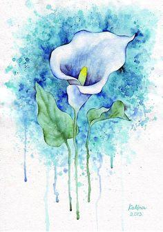 Watercolor Paintings by Zhanna Kabina <3 <3