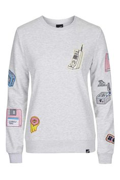 Photo 1 of **Techno Embroidered Sweater by Illustrated People