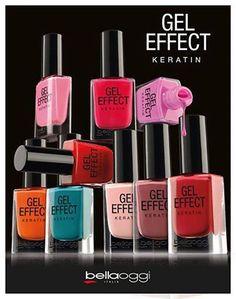 A melhor linha de esmaltes que você respeita!!!!  Com cores vibrantes e duradouras, o Gel Effect da Bellaoggi seca em 3 minutos!!!!!!!  #HND #Hinode #Bellaoggi #Nails
