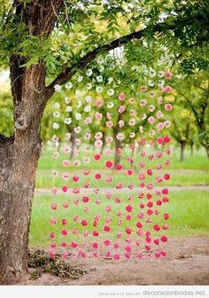 Flores | Decoración bodas | Todo para decorar con ideas originales tu boda, Arreglos florales para mesas y salones