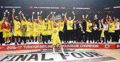 Fenerbahçe win the Euroleague Championship 2016-17.