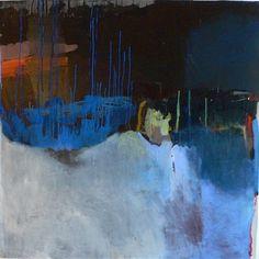 Blue rain, 2010 oil on canvas MADELEINE DENARO