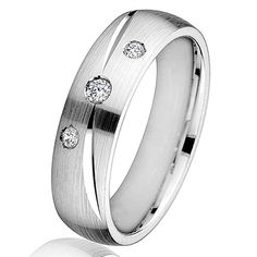 Speed Dating - Best Diamond Wedding Ring 2017 / white gold diamond comfort fit wedding ring. There are 3 round brilliant Diamond Wedding Rings, Wedding Ring Bands, Rings 2017, Best Diamond, Cartier Love Bracelet, White Gold Diamonds, Band Rings, Rings For Men, Engagement Rings