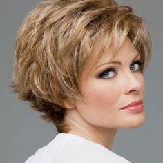 Short Haircut For Women Over 50 With Fine Hair