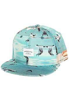 a8252985b05 Akomplice Hat The Birds Heaven Strapback in Blue Strapback Hats