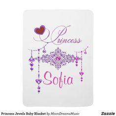 Princess Jewels Baby Blanket