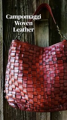 Leather Totes, Leather Bags, Leather Craft, Leather Backpack, Stella Maccartney, Leather Products, Distressed Leather, Bago, Italian Fashion