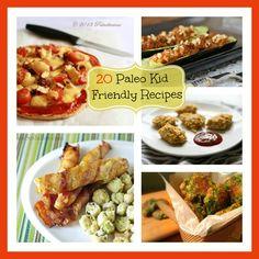20 Paleo Kid Friendly Recipes