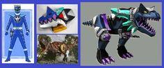 Indigo Dino Thunder Ranger by Greencosmos80 on DeviantArt
