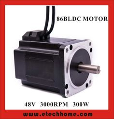 63.20$  Buy now - http://aliz3n.worldwells.pw/go.php?t=32713476350 - High Quality Brushless DC Motor 48VDC 300W 3000rpm Square Flange 86 mm