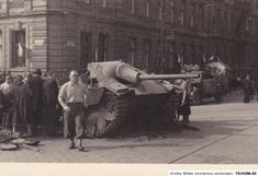Hetzer, Prague, May 1945