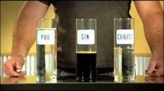 christian lesson water glasses - YouTube