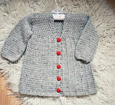 Ravelry: Baby (Toddler) Jacket pattern by Mon Petit Violon