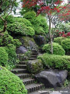 Steep Hillside Landscaping | visit the landscape design site com