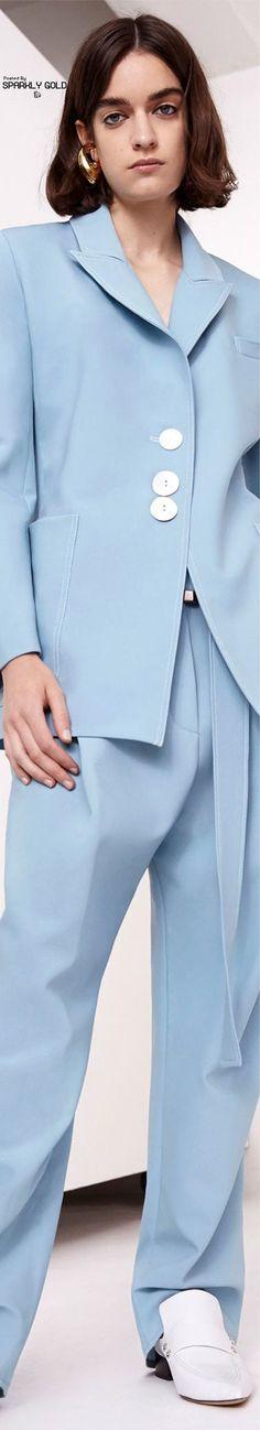 Ellery Resort 2018 Blue Fashion, High Fashion, Blue Dream, Boss Lady, Shades Of Blue, Baby Blue, Fashion Forward, Chic, How To Wear