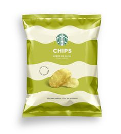 Starbucks chips - Supperstudio Chip Packaging, Packaging Snack, Brand Packaging, Food Branding, Food Packaging Design, Packaging Design Inspiration, Chips Brands, Chocolate Packaging, Starbucks
