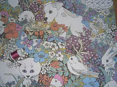 #VintageFabric by #Sanderson - Spot & Friends - I love this design, but sadly missed my bid on this ebay auction.  Will keep my eye out for another piece!