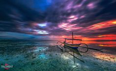 Sunrise Colour of Bali Island - So lovely morning to get clouds after raining and before sun show up the lights behind the clouds , beautiful colours i got and also great morning tide . Lucky me to get shot morning again , thanks God Bless me ... If anyones have bali holiday and wanna have tour landscapes , can contact me as person : toni220878@icloud.com or from Facebook . Have a nice evening and God Bless You All