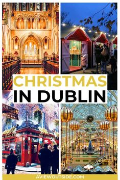 Twinkling lights & mulled wine, here are the very best Christmas things to do in Dublin! From Christmas fairs to ice skating, here are all the best winter activities you need to know about. #dublinchristmas #dublindecember #dublinthingstodo #christmasindublin #ireland #irelandtravel