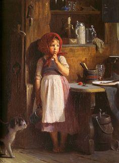 by Quido Mánes (Czech, 1828-1880)