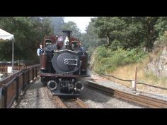 Ffestiniog Railway - Merddin Emrys at Tan Y Bwlch Station - 21/08/09
