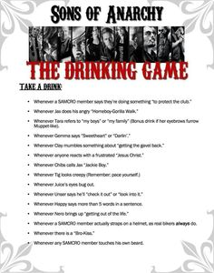 Drinking game :) date night at Jacobs!!!!