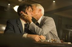 Pin for Later: All the TV Kisses That Made Your Heart Flutter in 2015 Mad Men Meanwhile, Don (Jon Hamm) gets some brotherly love from Roger (John Slattery).