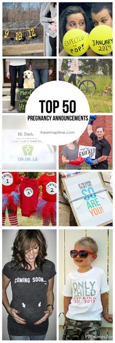 50 Creative Ways to Announce you're Pregnant!