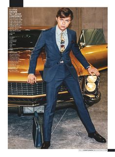 Dane DeHaan is Dashing in a New Spread for GQ