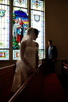 IF i got married in a church it would be a catholic one. :)