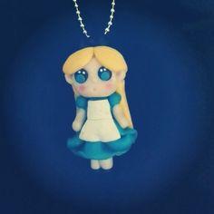 "Collana ""Alice in Wonderland""..stile Kawaii"