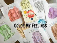 Learn about emotions and feelings with this Color My Feelings activity based on the book My Many Colored Days by Dr. Seuss