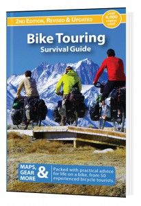 The 2nd edition of our Bike Touring Survival Guide is now available! The book now totals 450-pages (or 128,000 words) of bike touring guidance. Thank you for helping us to make it happen.