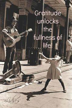 Gratitude unlocks the fullness of life!
